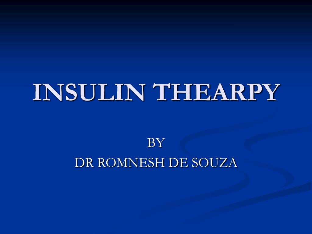 insulin thearpy l.