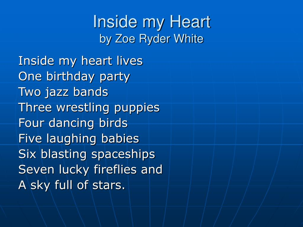 inside my heart by zoe ryder white l.