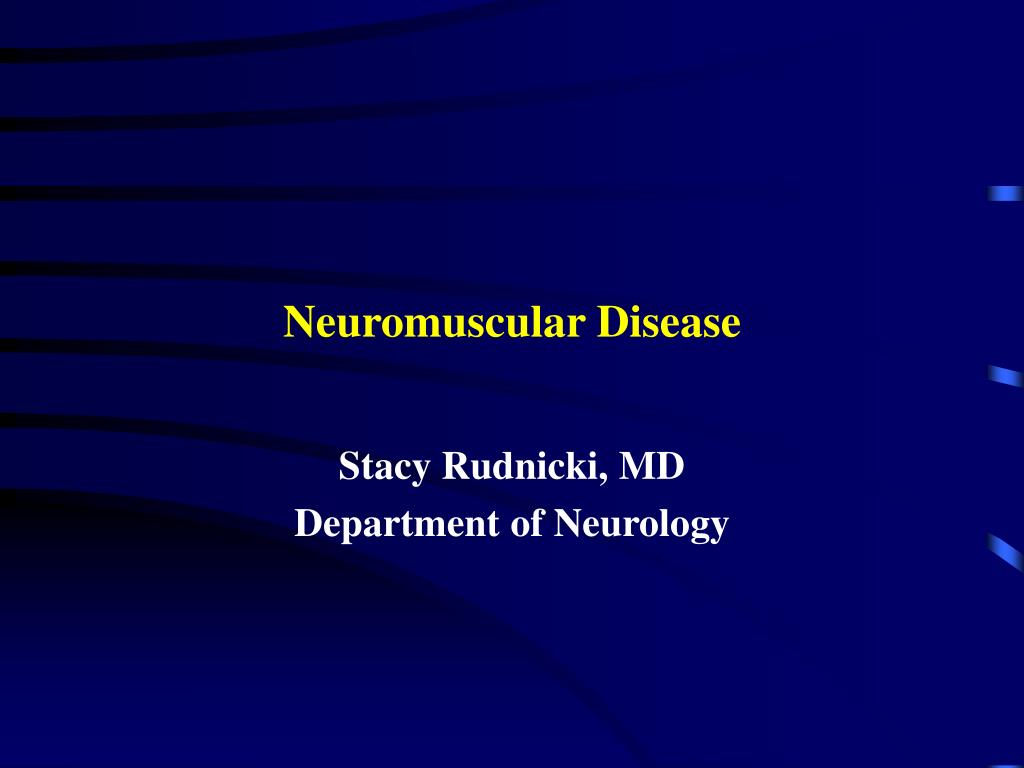 neuromuscular disease l.