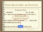 notes receivable an overview28