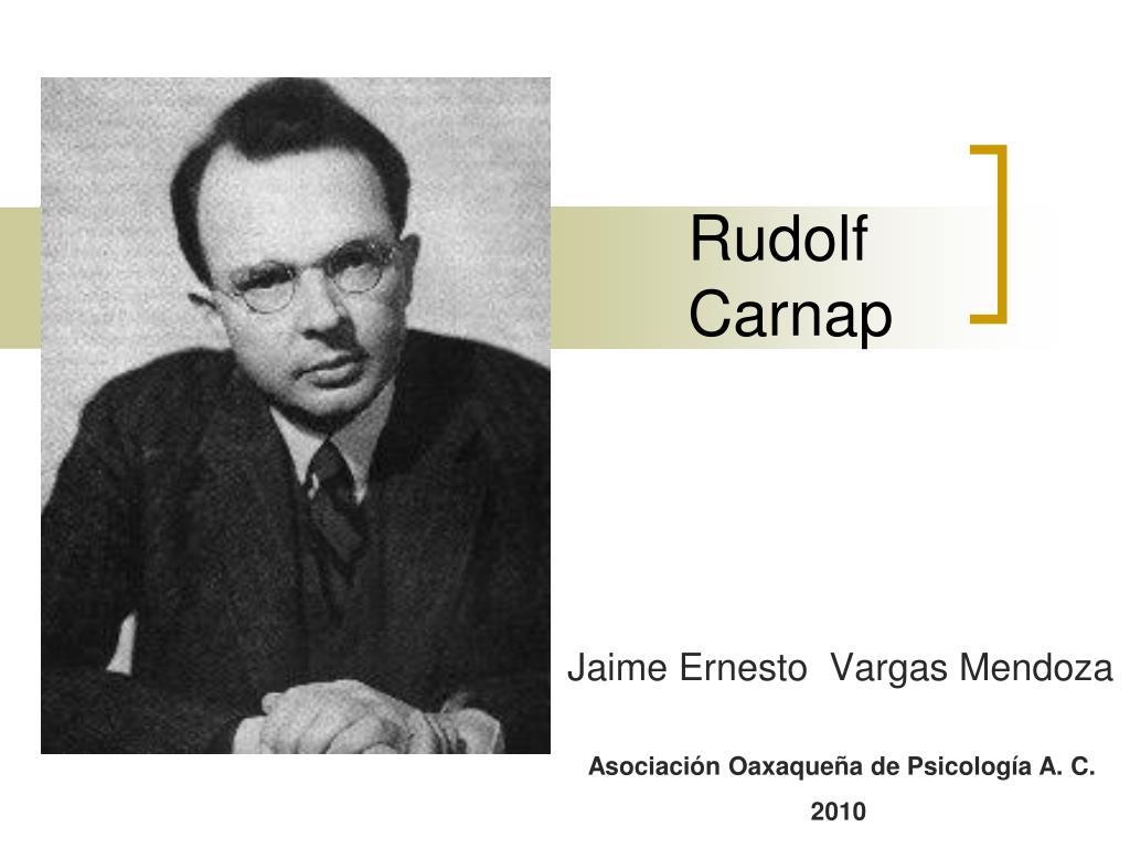 rudolf carnap l.