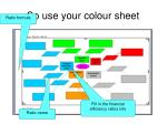 so use your colour sheet61