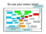 so use your colour sheet65