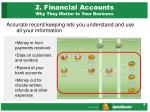 2 financial accounts why they matter to your business