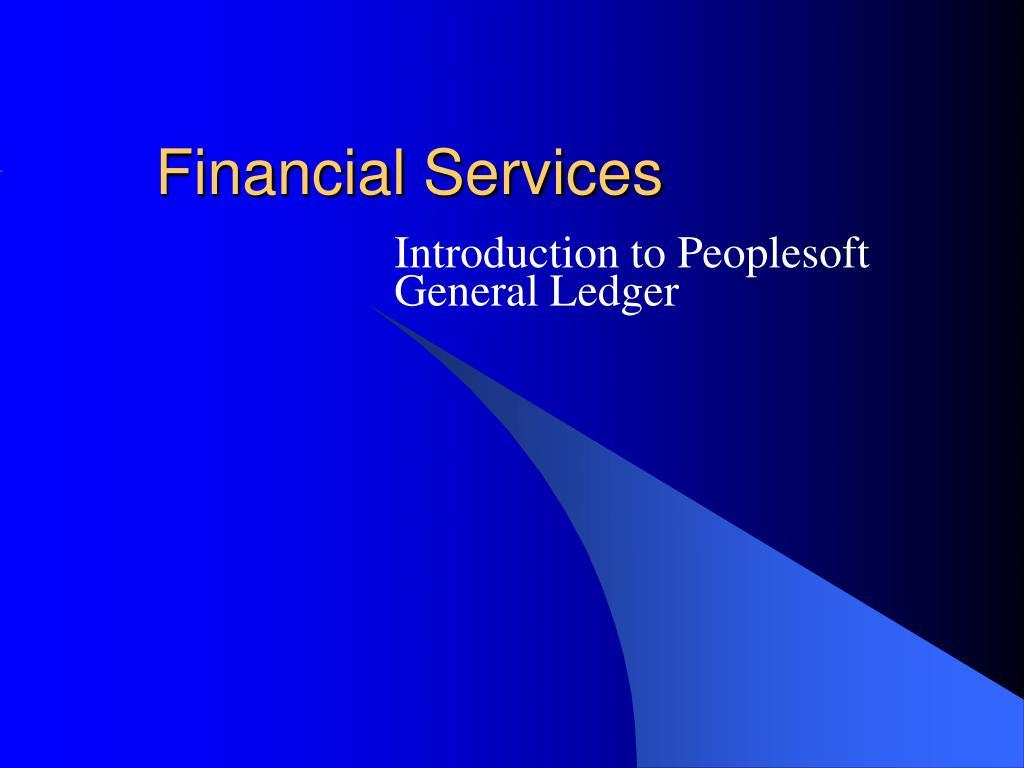 financial services l.