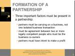 formation of a partnership6