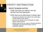 profit distribution