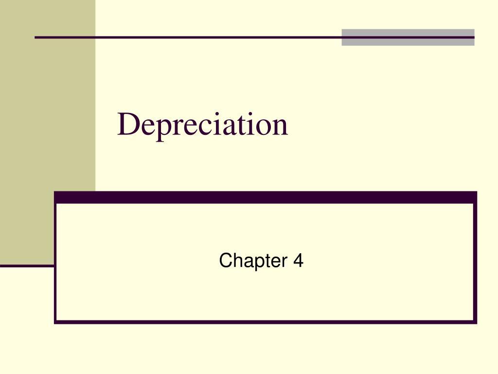 depreciation l.
