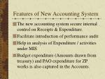 features of new accounting system19