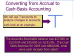 converting from accrual to cash basis accounting10