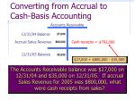 converting from accrual to cash basis accounting11