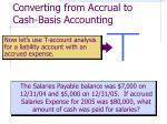 converting from accrual to cash basis accounting12