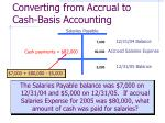 converting from accrual to cash basis accounting13