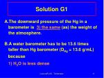 solution g1