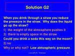 solution g2