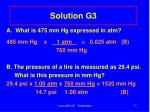 solution g3