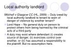 local authority landlord