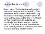 local authority landlord19