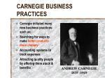 carnegie business practices