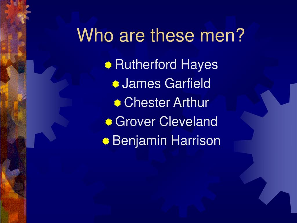 who are these men l.