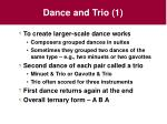 dance and trio 1