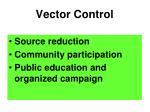 vector control77