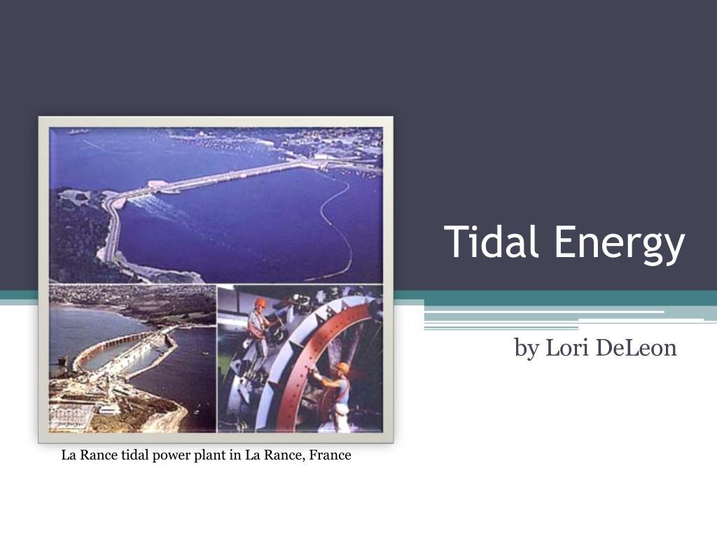 tidal energy l.