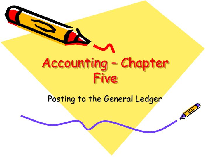Accounting chapter five