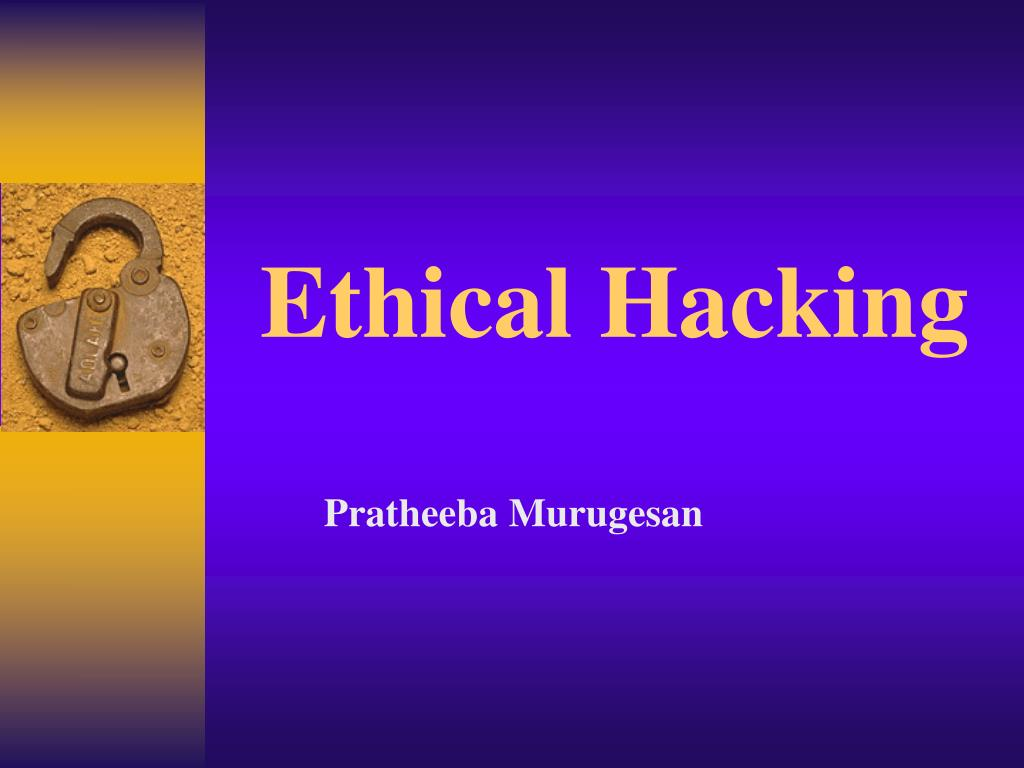 ethical hacking l.