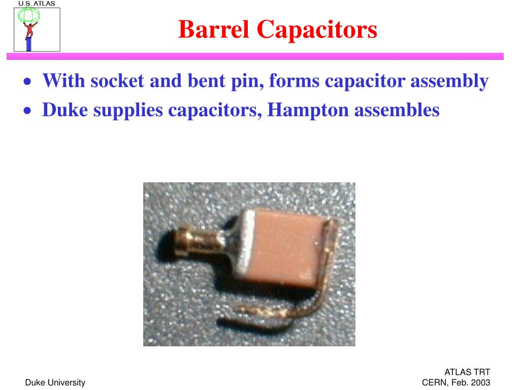 barrel capacitors l.