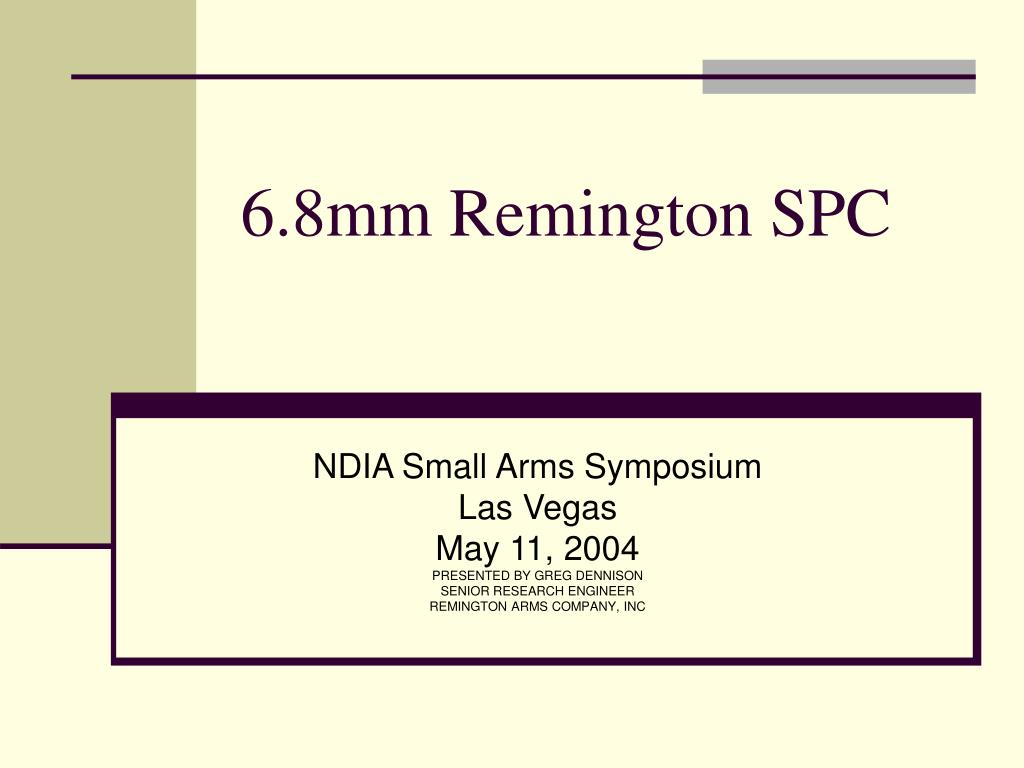 6 8mm remington spc l.