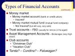 types of financial accounts7