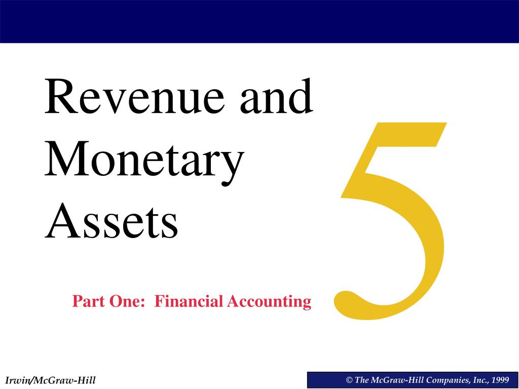 revenues and monetary assets Definition of non-monetary asset: an asset (such as equipment, inventory, land, or plant) that does not have a fixed exchange cash value, but whose value depends on economic conditions.