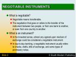 negotiable instruments3