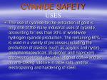 cyanide safety