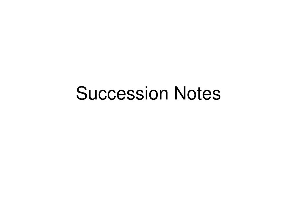 succession notes l.