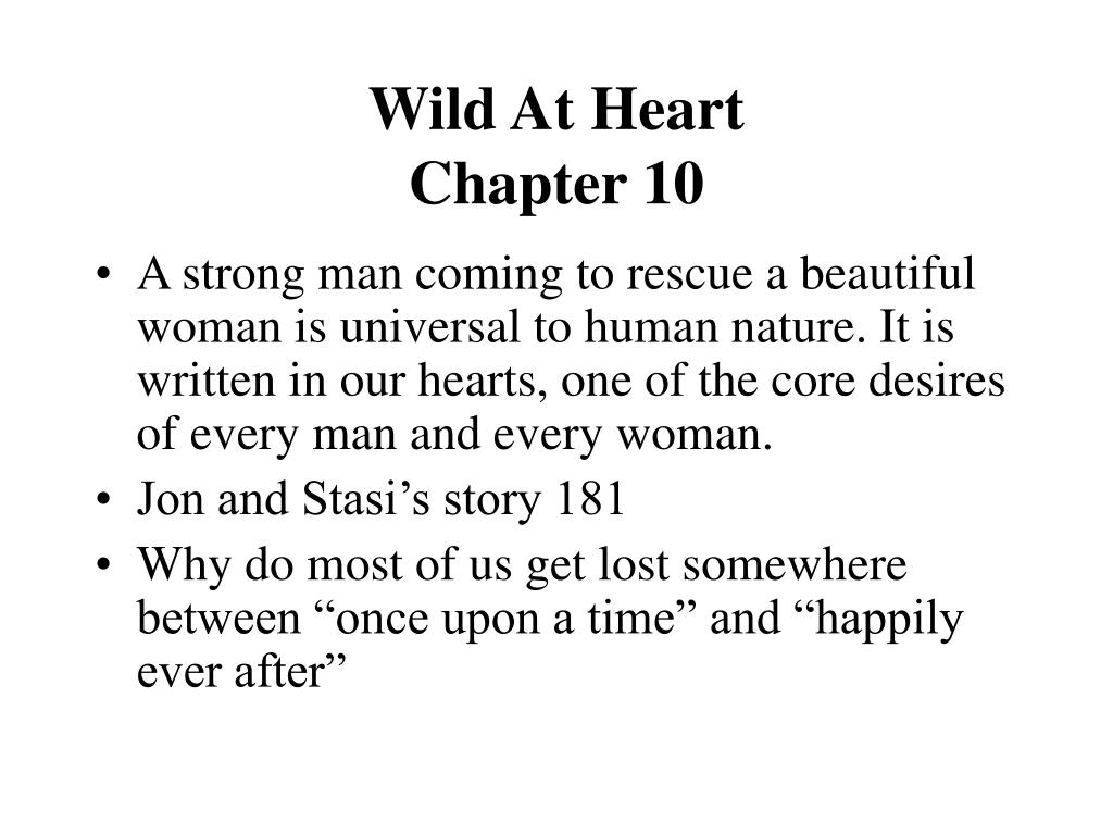 wild at heart chapter 10 l.