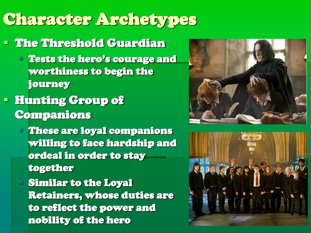 Character Archetypes