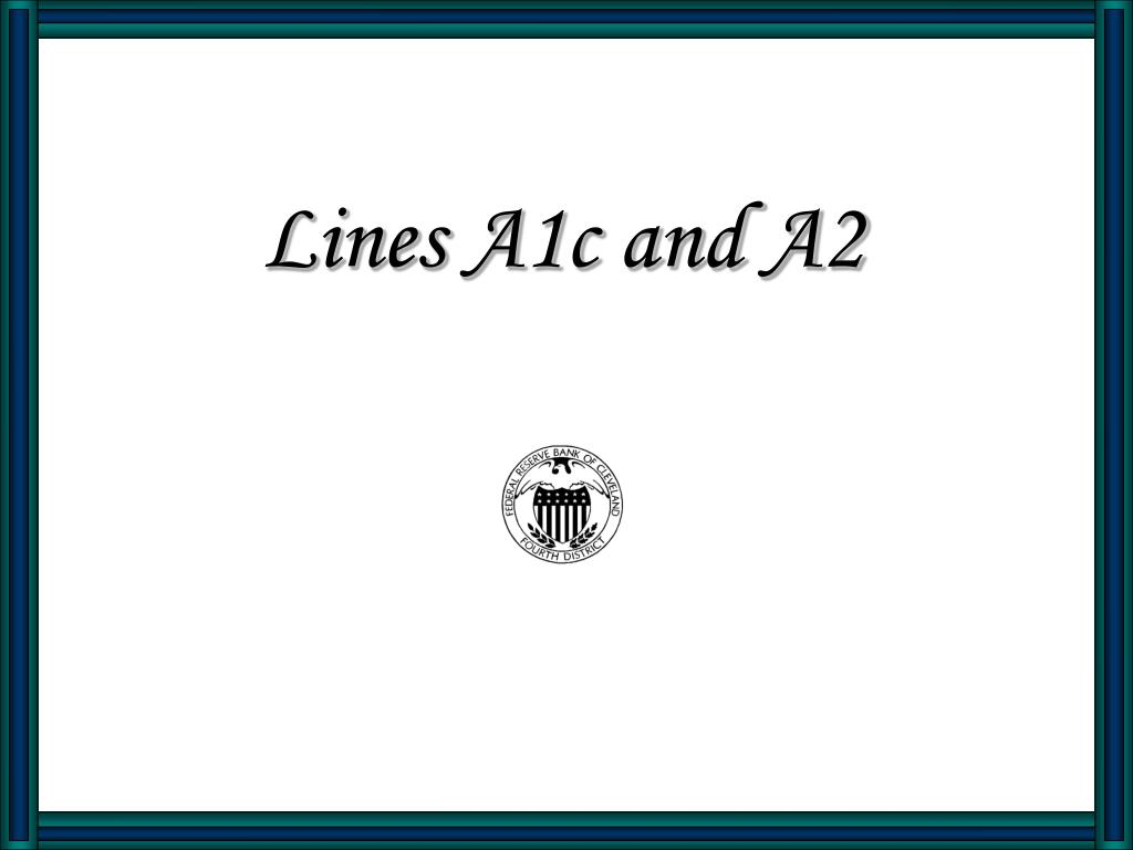 lines a1c and a2 l.