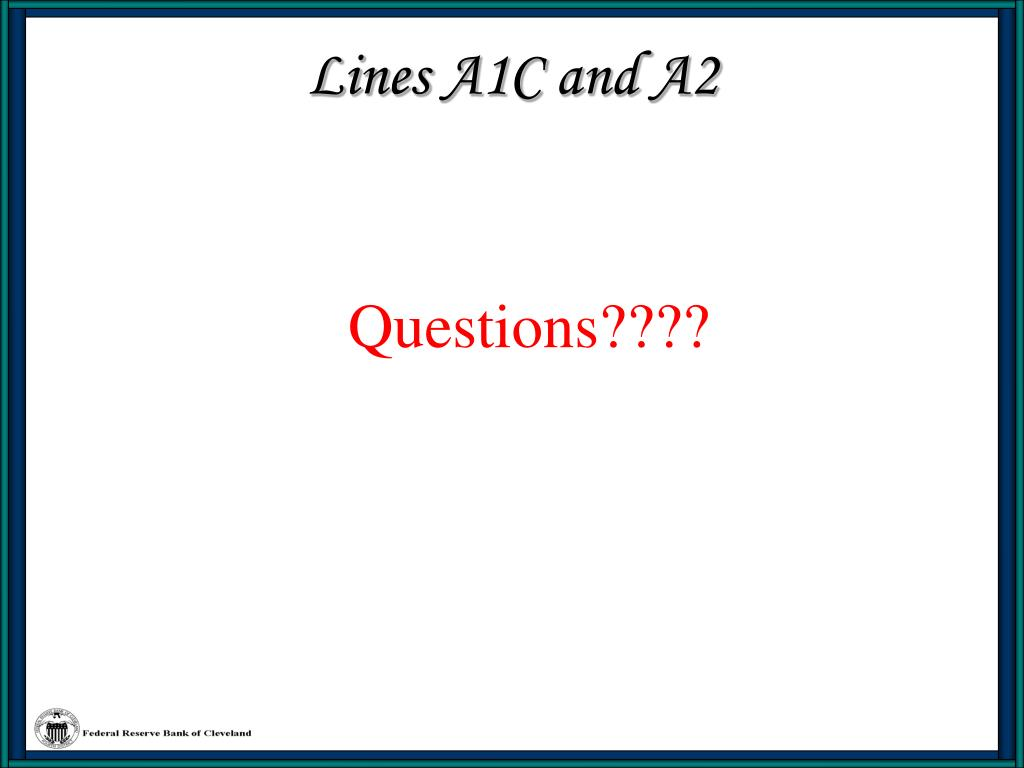 Lines A1C and A2