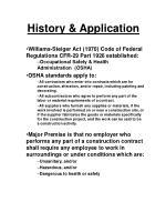 history application