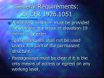 general requirements 29 cfr 1926 1051
