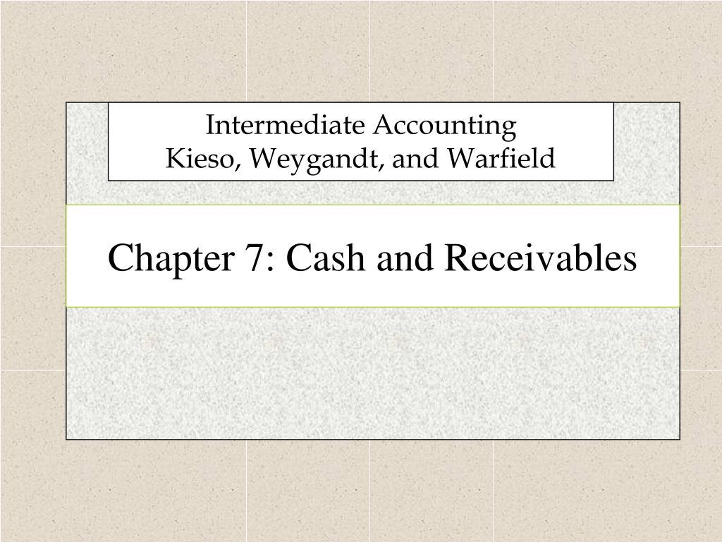 chapter 7 cash and receivables l.