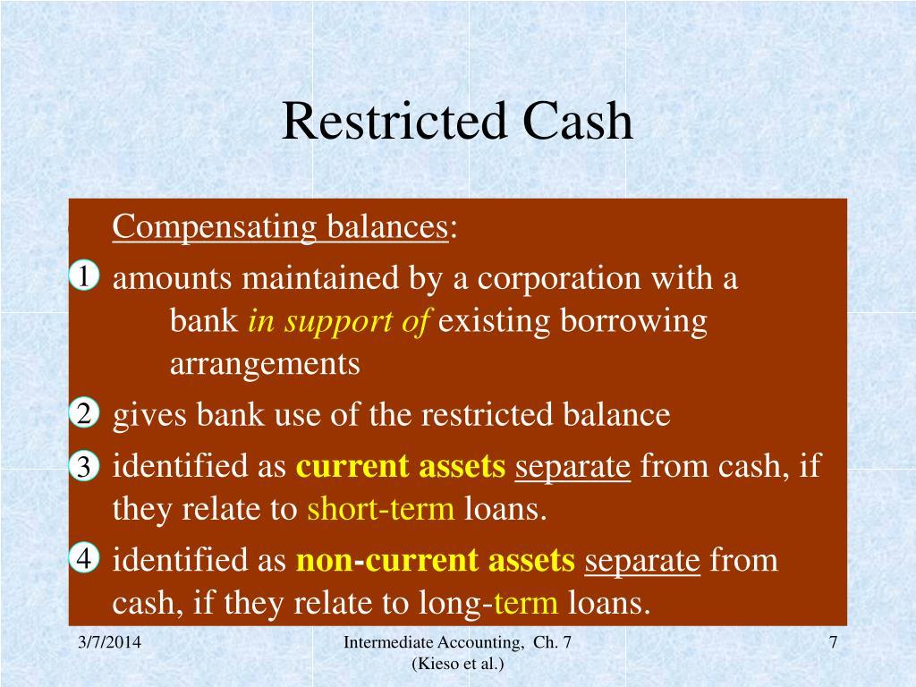 Restricted Cash