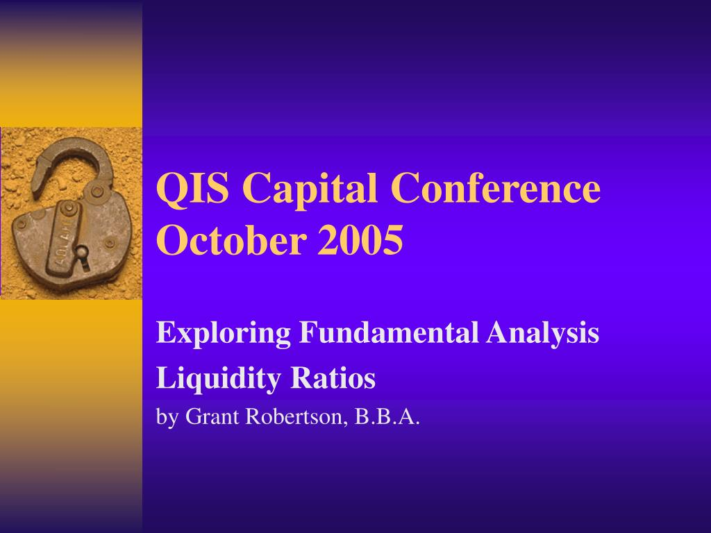 qis capital conference october 2005 l.