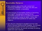 receivables turnover9