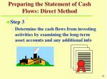 preparing the statement of cash flows direct method26