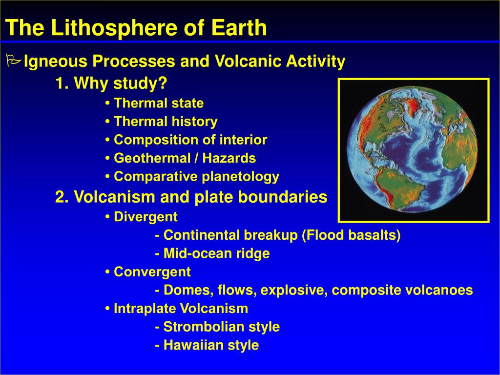 the lithosphere of earth l.