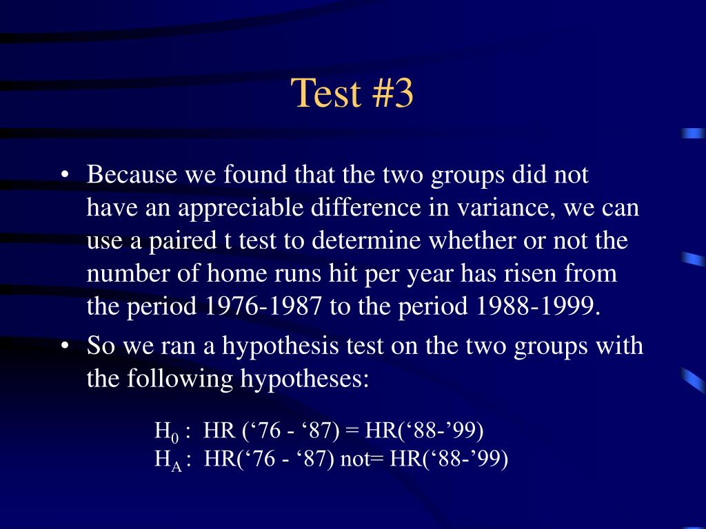 Test #3