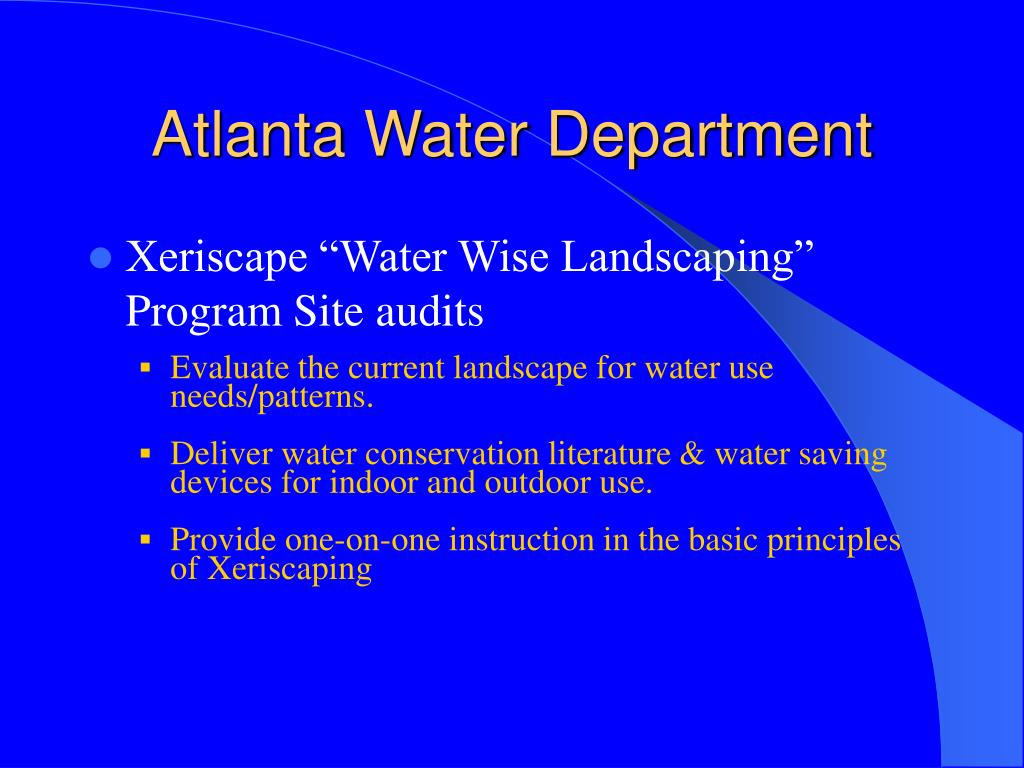 Atlanta Water Department